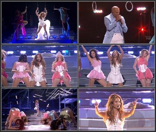 Jennifer Lopez ft. Pitbull - Live It Up (Live, American Idol, 2013)