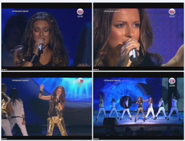 Нюша - Наедине (Live Премия телеканала RU.TV 2013)