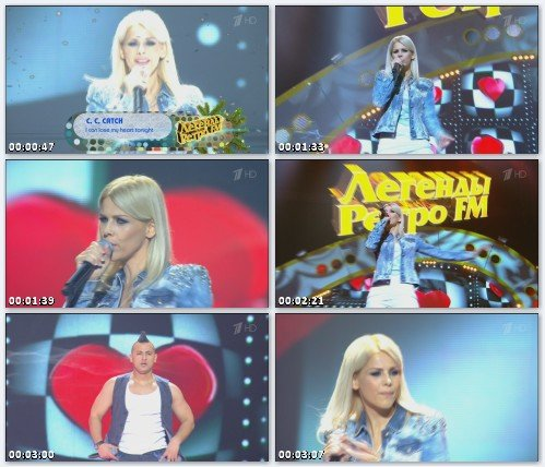 C.C. Catch - I Can't Lose My Heart Tonight (Live at Легенды Ретро FM, 2012)