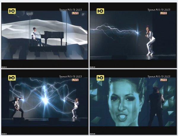 Нюша - Воспоминание (Live, Премия Муз ТВ 2013 )