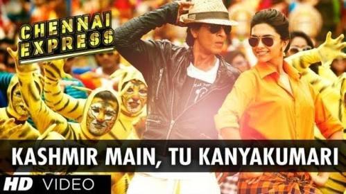 Shahrukh Khan, Deepika Padukone - Kashmir Main, Tu Kanyakumari (OST Chennai Express)