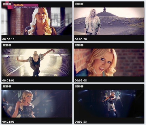 Cascada - The World Is In My Hands (Full HD)