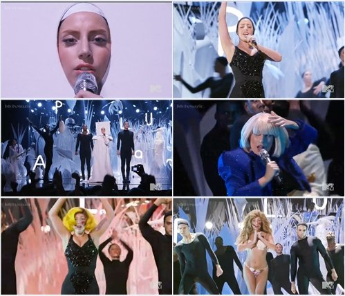 Lady Gaga - Applause (Live @ MTV VMA 2013)