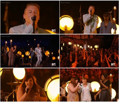 Macklemore & Ryan Lewis ft Mary Lambert & Jennifer Hudson - Live @ MTV VMA 2013