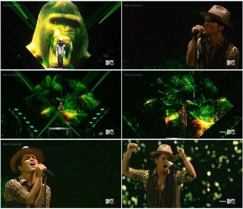 Bruno Mars - Gorilla (Live @ MTV VMA 2013)