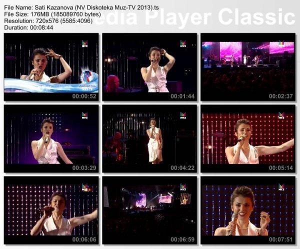 Сати Казанова - Игра и Буэнос-Айрес (Live, Дискотека Муз-ТВ. Новая Волна, 2013)