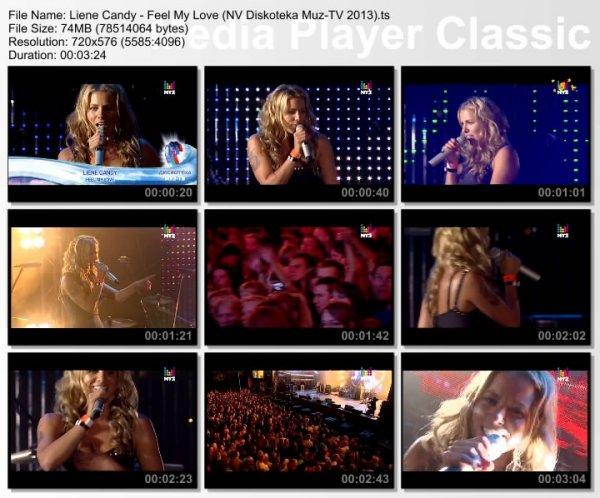 Liene Candy - Feel My Love (Live, Дискотека Муз-ТВ. Новая Волна, 2013)