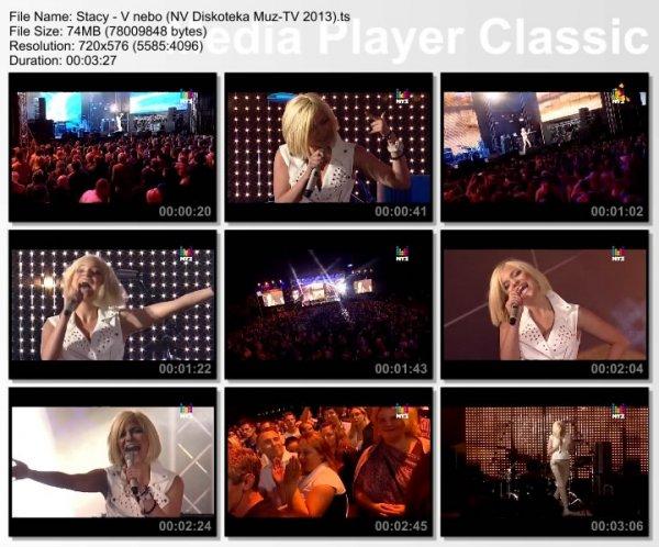 Stacy - В Небо (Live, Дискотека Муз-ТВ. Новая Волна, 2013)