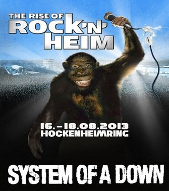System Of A Down - Rock'n'Heim (2013)