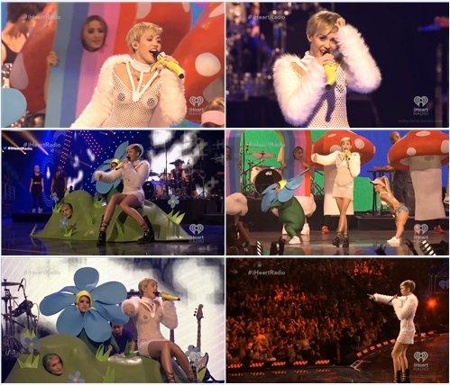 Miley Cyrus - Live @ iHeartRadio Music Festival