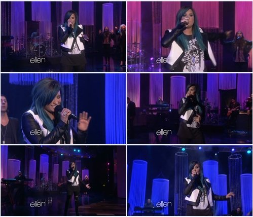 Demi Lovato - Neon Lights (Live @ The Ellen Show)