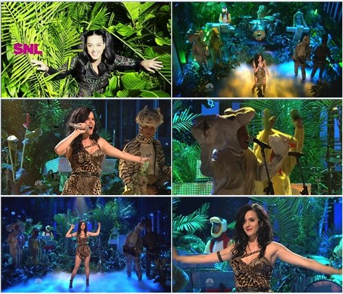 Katy Perry - Roar (Live @ Saturday Night Live)