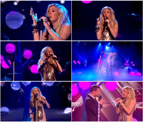 Ellie Goulding - Burn (Live @ The X Factor UK)