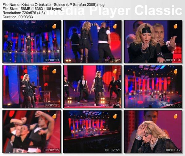 Кристина Орбакайте - Солнце (Live, Лучшие Песни, 2008)