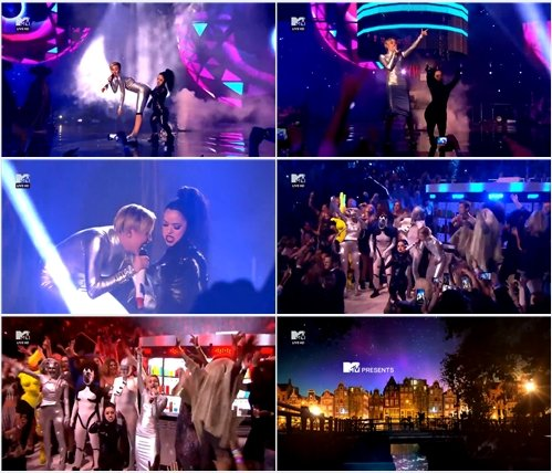 Miley Cyrus - We Can't Stop (Live @ MTV Europe Music Awards 2013)