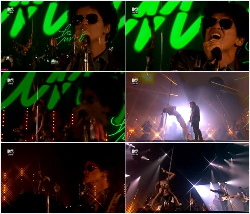 Bruno Mars - Gorilla (Live @ MTV Europe Music Awards 2013)