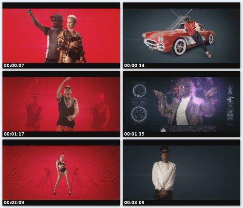 Will.I.Am feat. Miley Cyrus, French Montana & Wiz Khalifa - Feelin' Myself