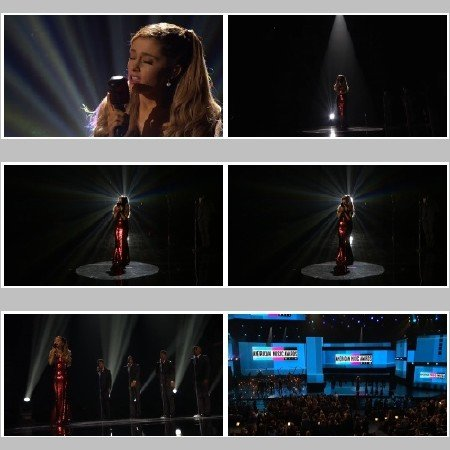Ariana Grande - The Way/Tattooed Heart (Live, AMAs)