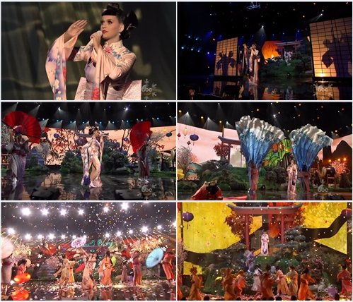 Katy Perry - Unconditionally (Live @ AMA 2013)