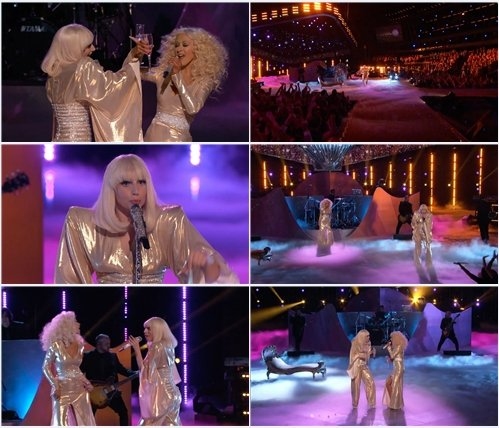 Lady Gaga & Christina Aguilera - Do What U Want (Live @ The Voice)