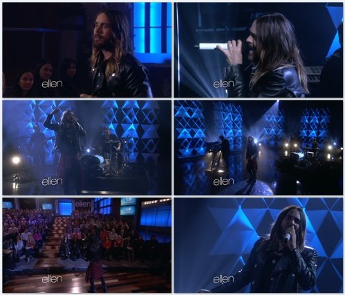 30 Seconds to Mars - Stay (Live @ The Ellen Show)