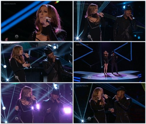 Celine Dion & Neyo - Incredible (Live @ The Voice Finale)