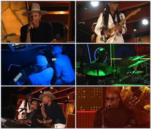 Daft Punk, Stevie Wonder, Pharrell Williams & Nile Rodgers - Get Lucky (Live @ Grammy Awards 2014)