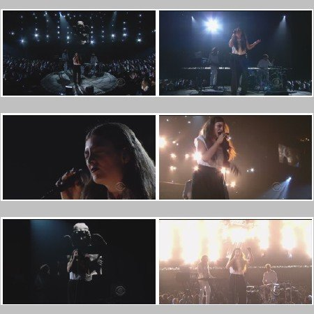 Lorde - Royals (Live, The Grammy's)
