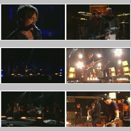 Keith Urban & Gary Clark - Cop Car (Live, The Grammy's)
