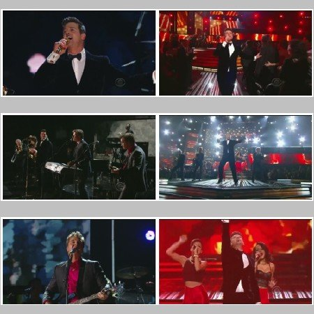 Robin Thicke & Chicago - Medley (Live, The Grammy's)