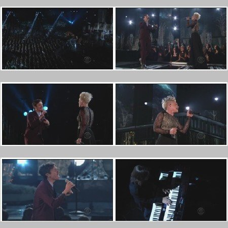 P!nk & Nate Reuss - Just Give Me A Reason (Live, The Grammy's)