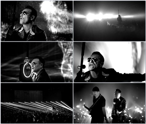 U2 - Invisible (RED) [Edit Version]