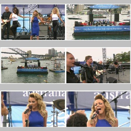 Samantha Jade - What You've Done to Me (Australia Day Sydney Live)