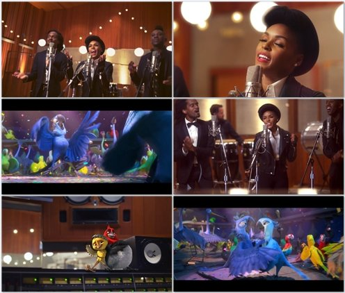 Janelle Monae - What Is Love (OST Rio 2)