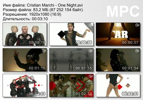 Cristian Marchi - One Night