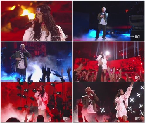Eminem ft. Rihanna - The Monster (Live @ MTV Movie Awards)