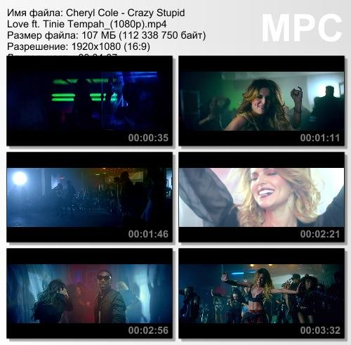 Cheryl Cole ft. Tinie Tempah - Crazy Stupid Love