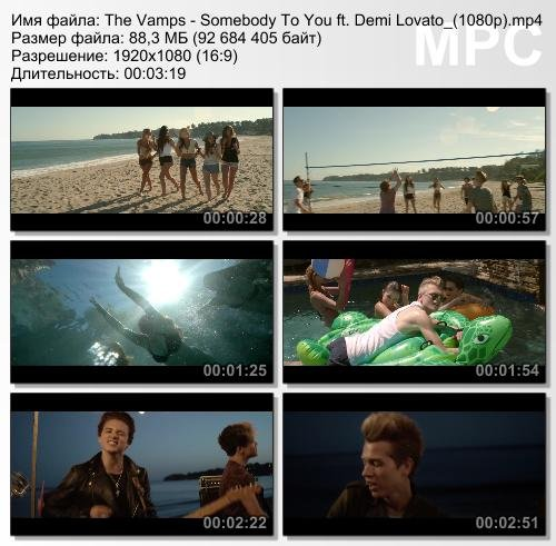 The Vamps ft. Demi Lovato - Somebody To You