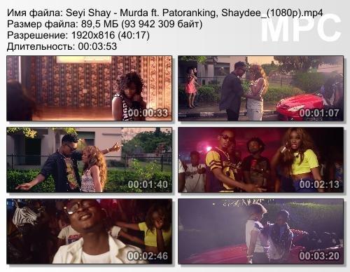 Seyi Shay ft. Patoranking & Shaydee - Murda