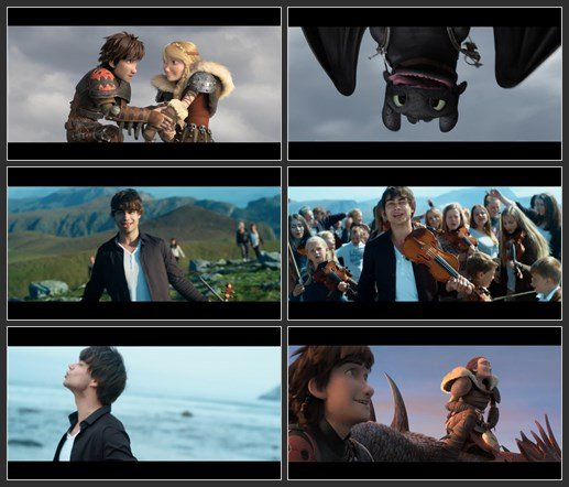 Alexander Rybak - Into A Fantasy (OST How To Train Your Dragon 2)