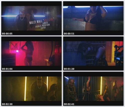 Mally Mall Feat. Iamsu!, French Montana & Chinx - Hot Girls (Full HD)