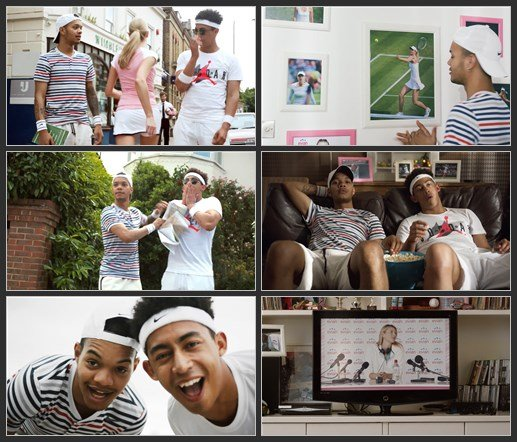 Evian & Rizzle Kicks ft. Maria Sharapova - Tell Her