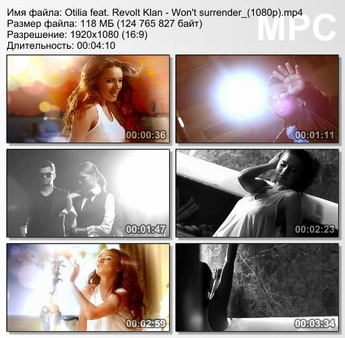 Otilia feat. Revolt Klan - Won't surrender