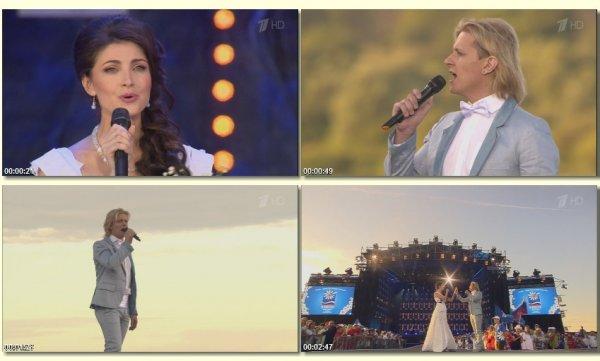 Глеб Матвейчук и Анастасия Макеева - Эхо любви (Live, 2014)
