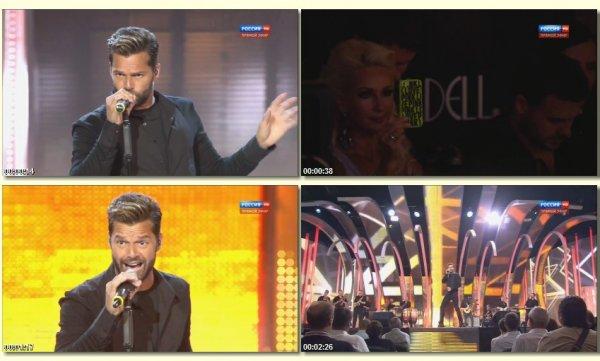 Ricky Martin - Livin La Vida Loca (Live, Новая Волна 2014)
