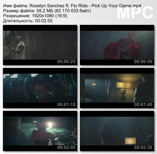 Roselyn Sanchez ft. Flo Rida - Pick Up Your Game