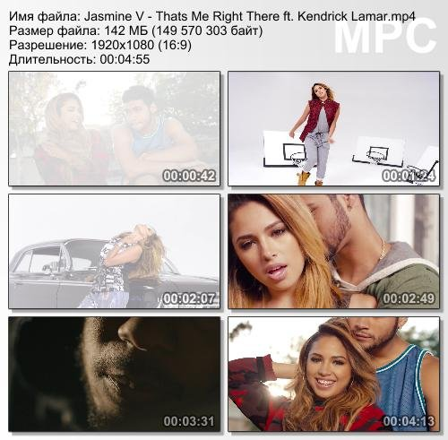 Jasmine V ft. Kendrick Lamar - Thats Me Right There