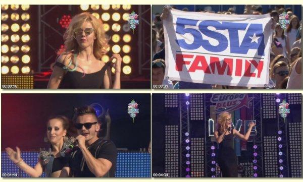 5sta Family - Моя Мелодия. Буду С Тобой. Вместе Мы (Live, Europa Plus 2014)