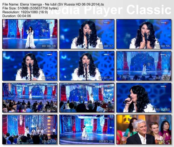 Елена Ваенга - Не Любил (Live, Субботний Вечер, 2014)