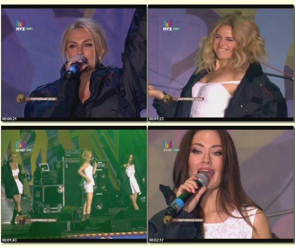 Фабрика - Не родись красивой (Live, Дискотека МУЗ-ТВ 2014)